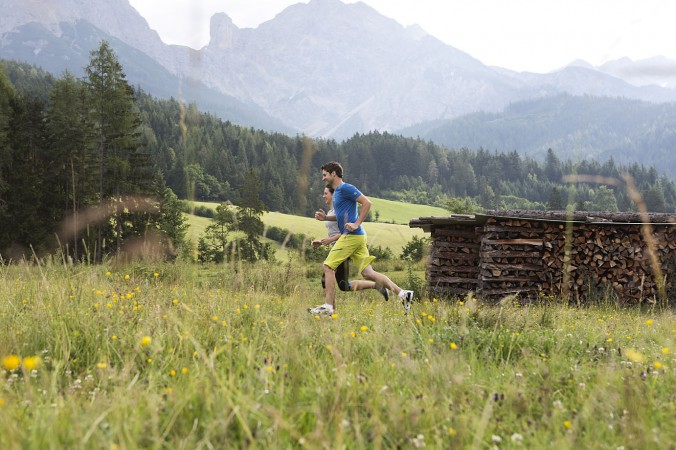 Trail Running mit Michael