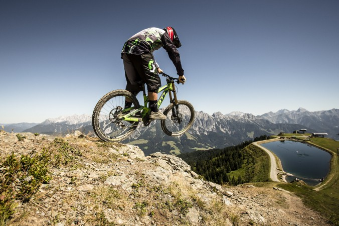 Mountainbiken Saalfelden-Leogang