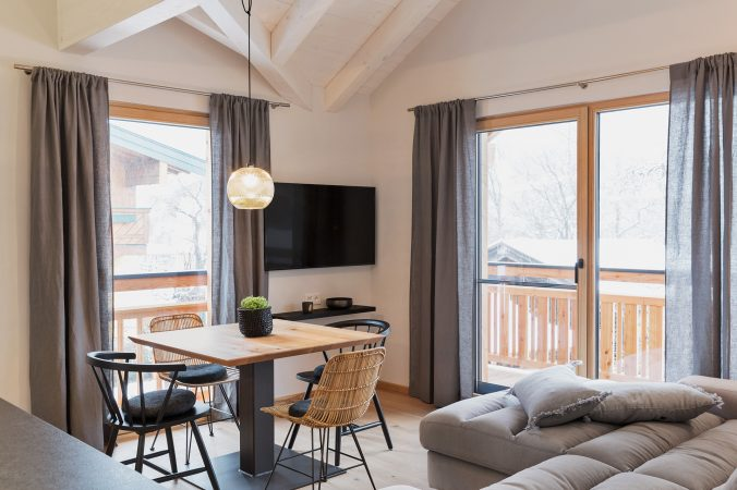 Stylish living - Bewegte Berge