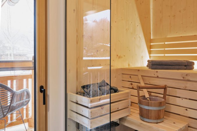 Sauna in the apartement, Saalfelden-Ramseiden